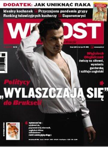 Okładka tygodnika WPROST: 19/2009