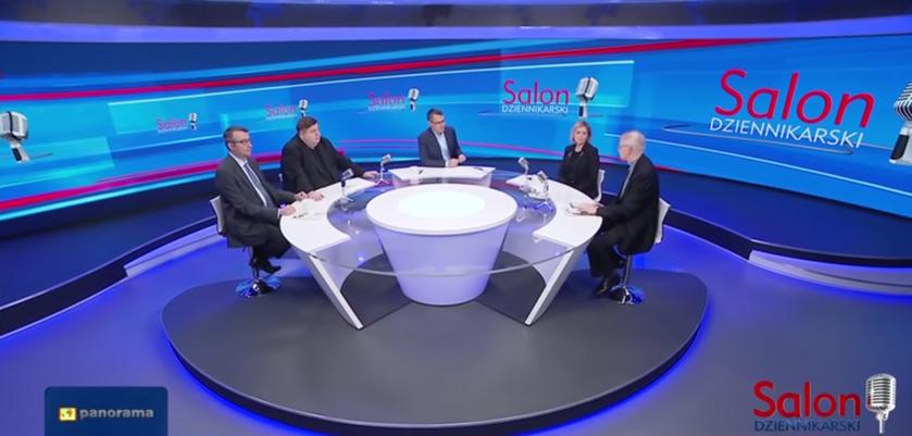 """Salon dziennikarski"" w TVP Info"