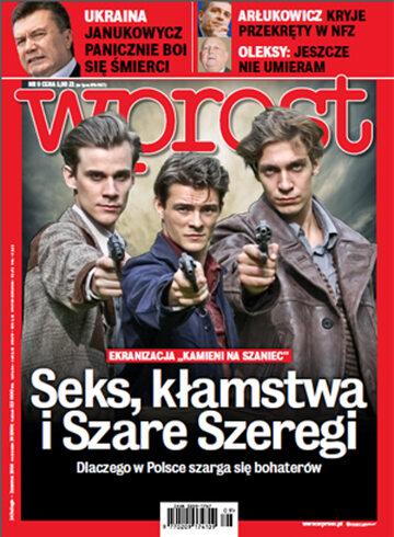 Okładka tygodnika WPROST: 9/2014