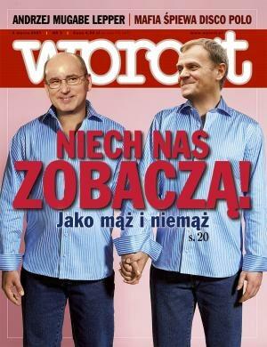 Okładka tygodnika Wprost nr 9/2007 (1262)