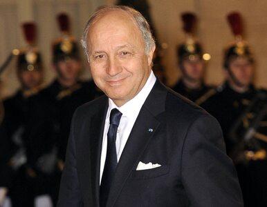 """Francuski minister chce nazwać syryjskich opozycjonistów """"terrorystami"""""""