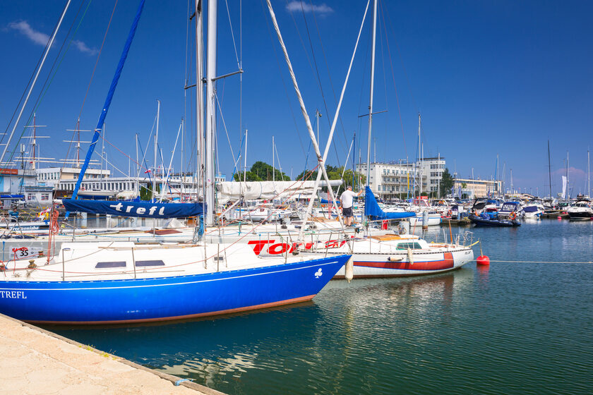 Port w Gdyni, zdjęcie ilustracyjne
