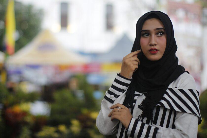 Kobieta w hidżabie, zdjęcie ilustracyjne