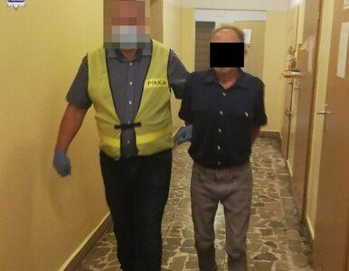 45-letni włamywacz chciał ukryć się przed policją. Wybrał dywan