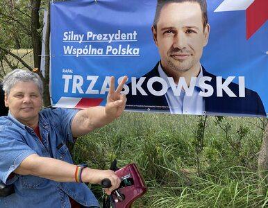 """Ochojska zagłosuje na Trzaskowskiego. """"Bo wprowadzi kartę LGBT w całym..."""