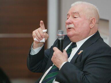 Lech Wałęsa wybiera się do protestujących w Sejmie