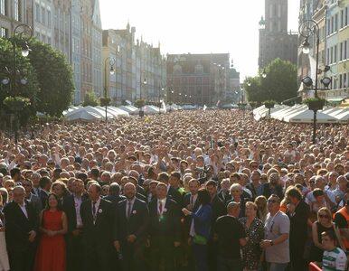 Gdańsk znowu stał się centrum Polski. Tak wyglądała rocznica 4 czerwca