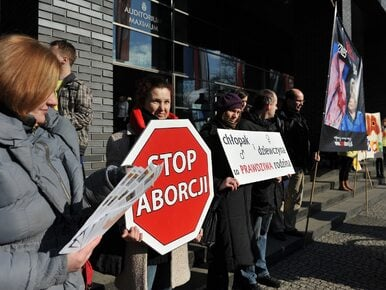 """""""Zatrzymaj aborcję"""" może zacząć zbierać podpisy. Inicjatorzy chcą..."""
