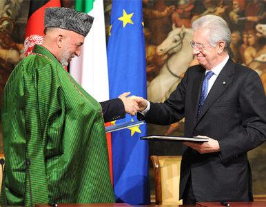 Włochy i Afganistan to teraz partnerzy