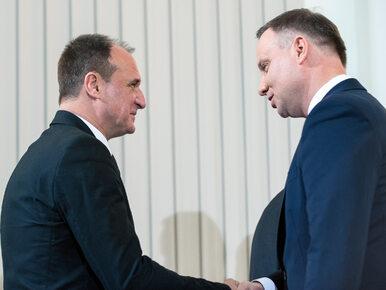Kukiz: Prezydent Duda mnie poważnie rozczarował. Podpisał ordynację...
