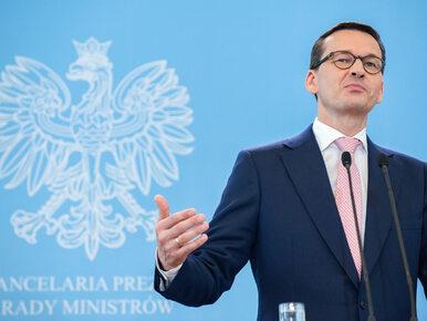 Co z protestem w Sejmie? Premier Morawiecki: Potrzeba wyciszenia