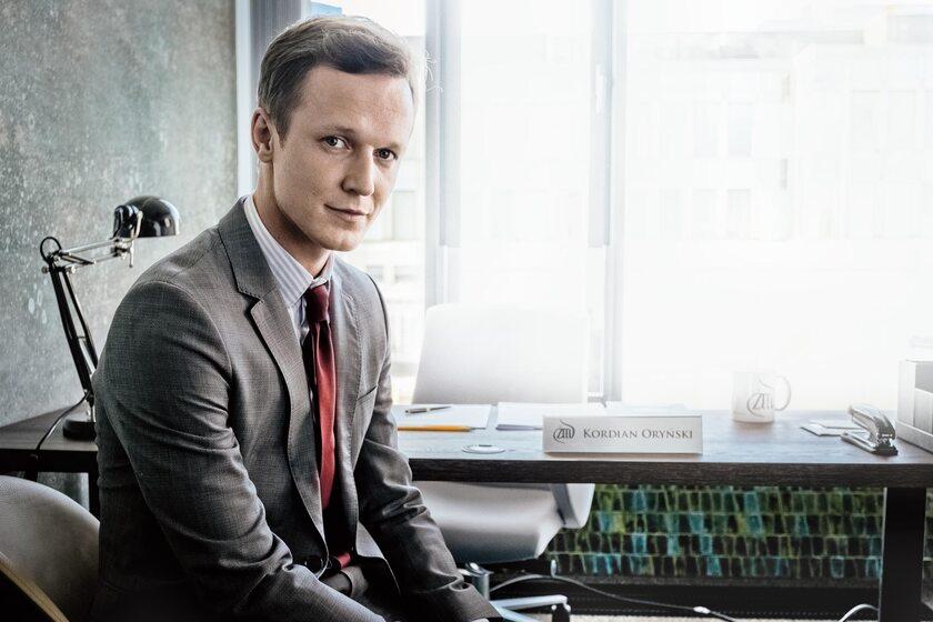 Gwiazda młodego pokolenia Filip Pławiak jako serialowy Kordian Oryński