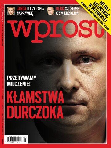 Okładka tygodnika Wprost nr 44/2016 (1760)