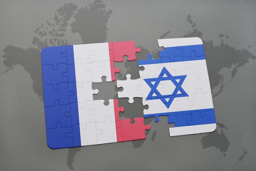 Francja, Izrael