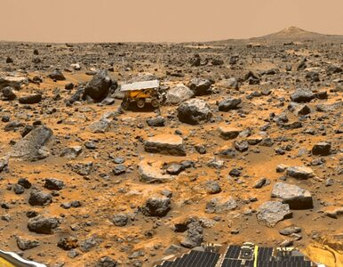 Tak Mars wyglądał 16 lat temu