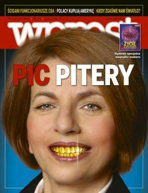 Okładka tygodnika Wprost nr 24/2008 (1329)
