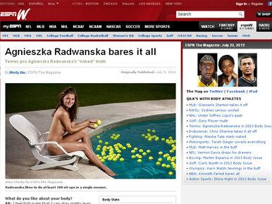 Agnieszka Radwańska się rozebrała. Przyznała, że ma słabość do...
