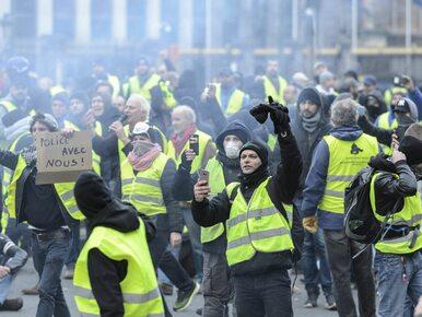 """Rosja podsycała protesty """"żółtych kamizelek""""? Rzecznik Kremla odpowiada"""