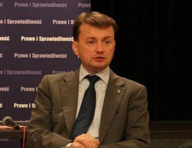 Błaszczak: inicjatywa Ziobry daje fory Tuskowi