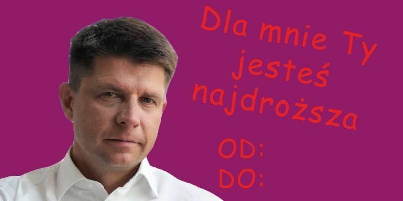 Walentynkowy Ryszard Petru