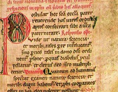 Polski średniowieczny dokument wrócił po 75 latach do kraju
