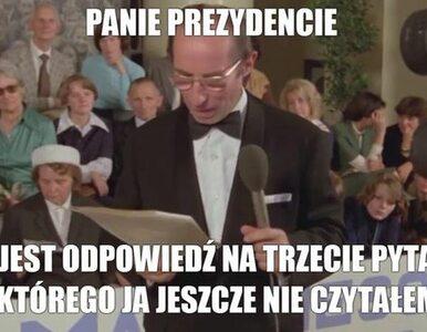 Debata w Końskich i w Lesznie. Memy