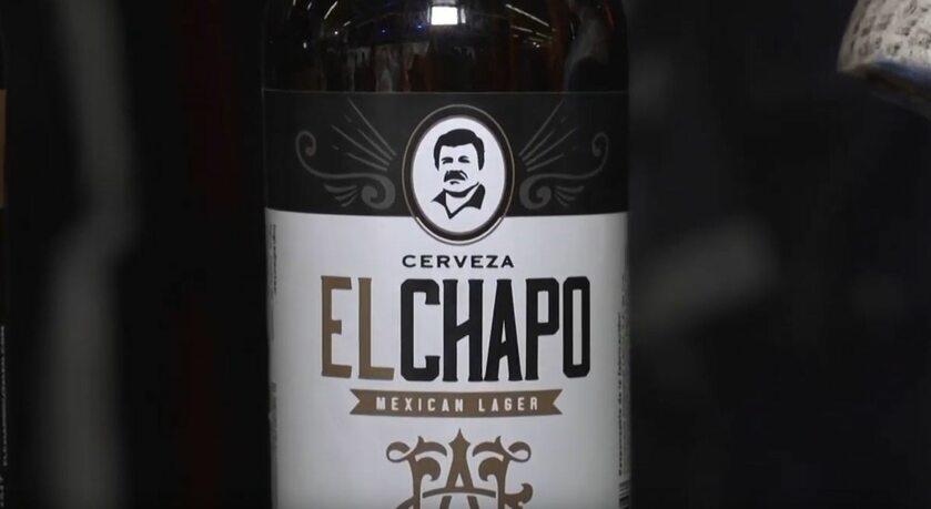 """Butelka piwa """"El Chapo"""""""