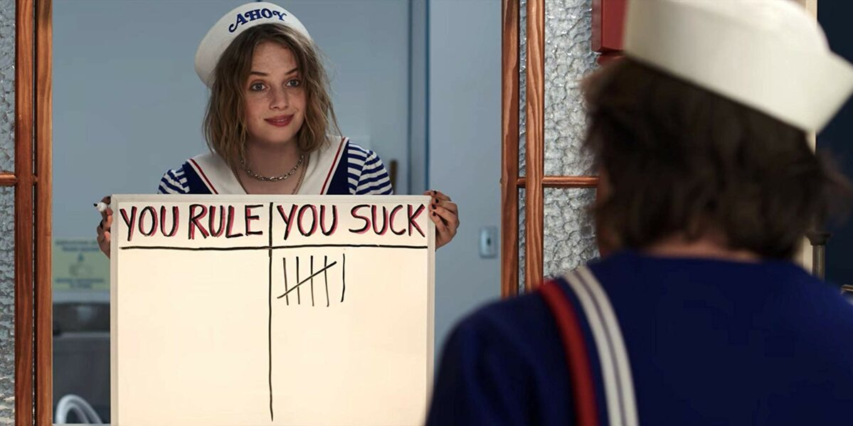 "Maya Hawke w serialu ""Stranger Things"""