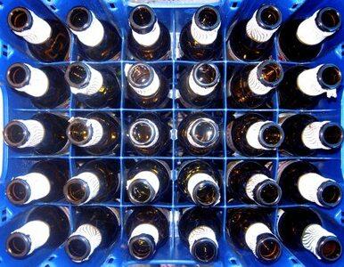 24 tony piwa wysypało się na A4