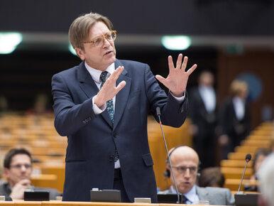 Verhofstadt: Sankcje wobec Polski mogą być nieuniknione