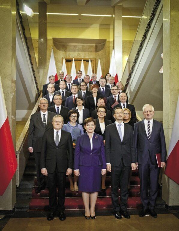 Rząd Beaty Szydło poobjęciu stanowisk 6 listopada 2015 r.