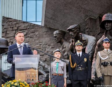 74. rocznica wybuchu Powstania Warszawskiego. Prezydent: Chcieli...