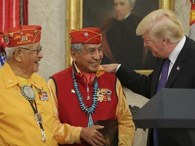 """Żart Donalda Trumpa wywołał konsternację. """"Pocahontas w amerykańskim..."""