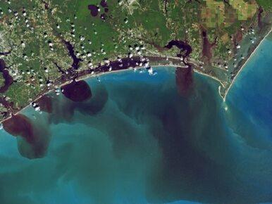 Niebezpieczne skutki powodzi na zdjęciach NASA. Do oceanu trafiają...