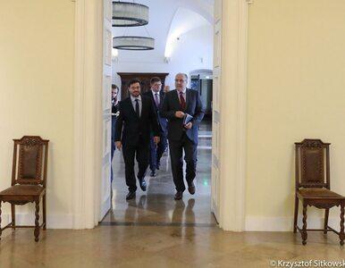 """Przedstawiciele Kukiz'15 po spotkaniu z prezydentem. """"To nie jest żadna..."""