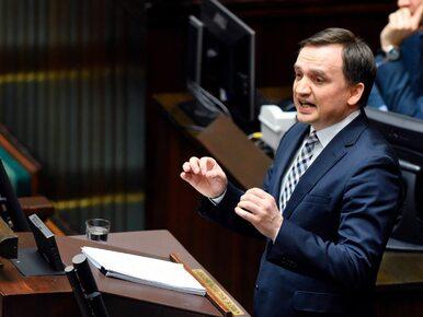 Zbigniew Ziobro pozostaje ministrem sprawiedliwości. Wniosek o wotum...