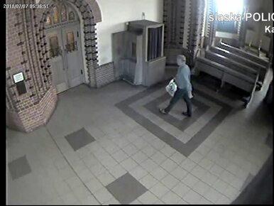 """Znak krzyża przed kradzieżą w kościele. Policja poszukuje """"religijnego""""..."""