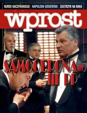 Okładka tygodnika Wprost nr 19/2007 (1272)