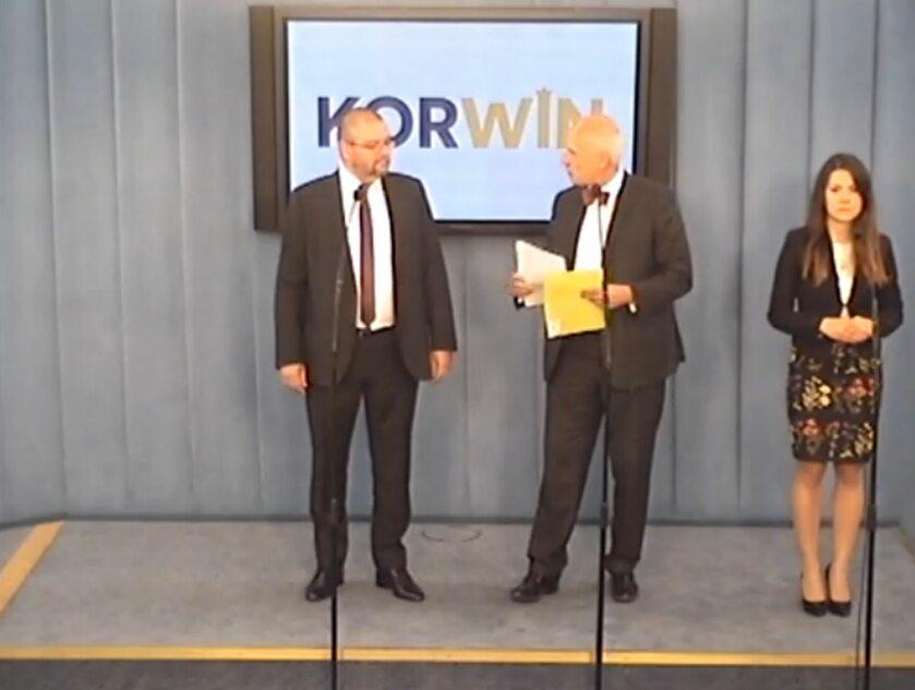 Konferencja europosłów KORWiN