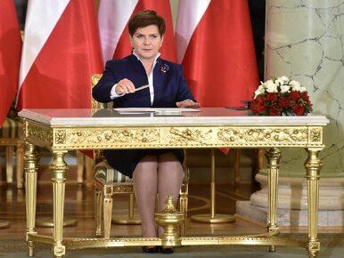 Beata Szydło wygłosiła expose w Sejmie