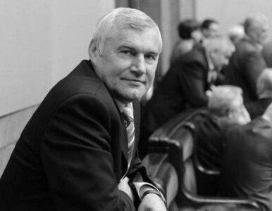 Nie żyje senator PO Wiesław Kilian. Miał 67 lat
