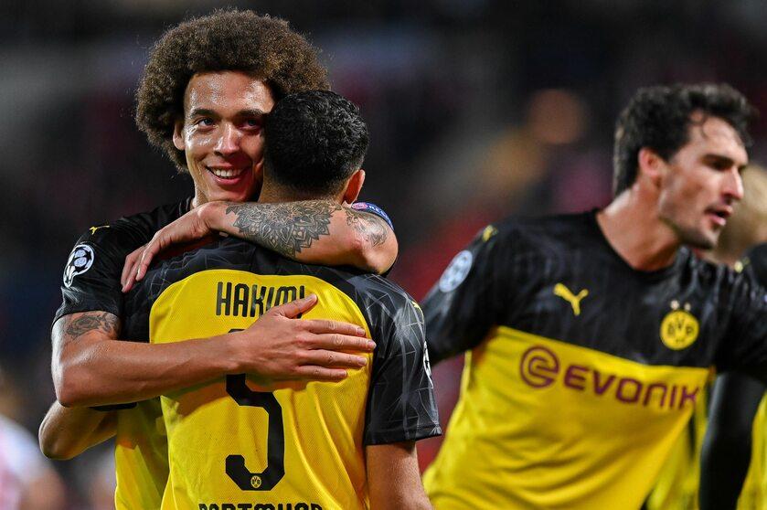 Piłkarze Borusssi Dortmund
