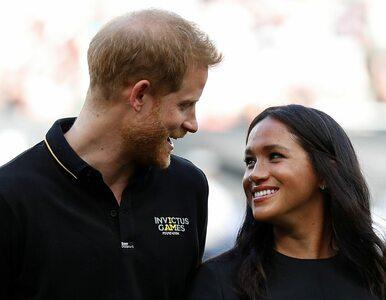 Harry i Meghan wchodzą w świat biznesu? Zastrzegli znak towarowy