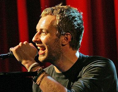 Wokalista Coldplay odda gitarę z trasy Mylo Xyloto