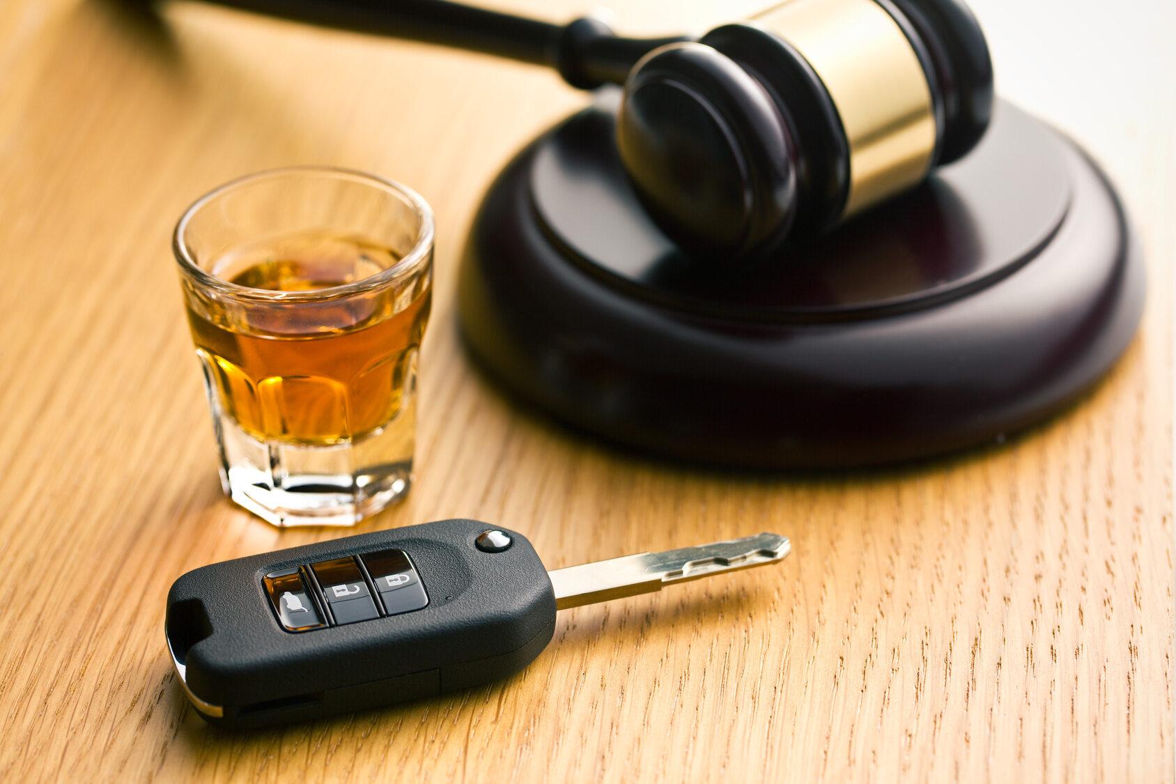 Alkohol i kluczyki samochodowe