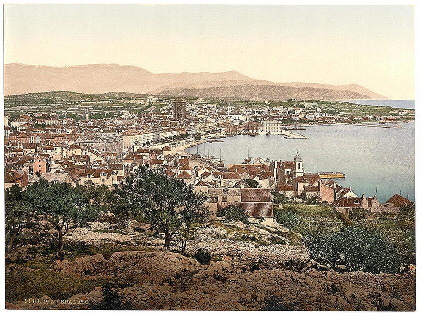 Chorwackie miasta 100 lat temu