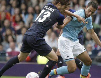 Londyn 2012: Hiszpańscy piłkarze przegrali z Japończykami